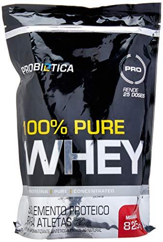 100% Pure Whey Refil, Probiótica, Morango, 825 g