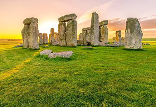 Yeele 7x5ft Stonehenge Backdrop Historical Heritage Ancient Site Ruin Photography Background Baby Adult Travel Portraits Photo Booth Video Shooting Vinyl Wallpaper Studio Prop