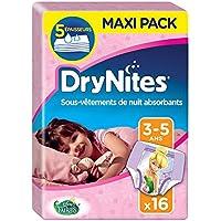 DryNites, braguitas absorbentes para niñas de 3-5 años