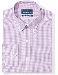 Men's Classic Fit Check Non-Iron Dress Shirt