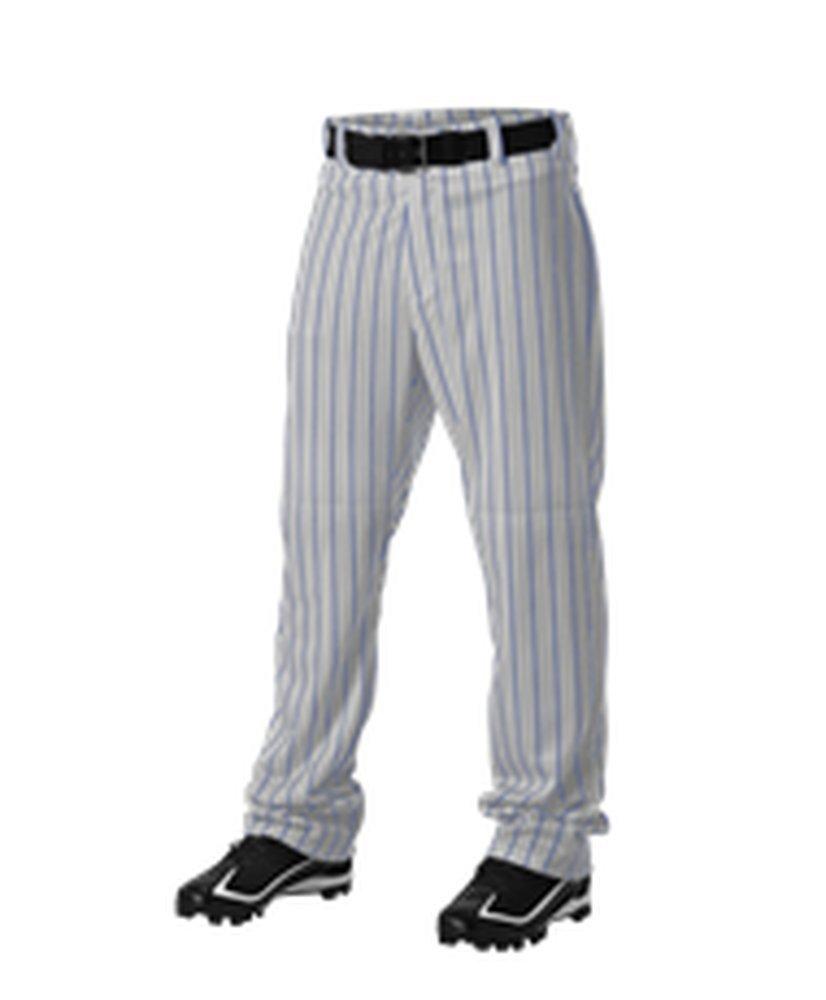 Alleson Athletic PANTS メンズ B072R4FN45 3X|Grey, Royal Grey, Royal 3X