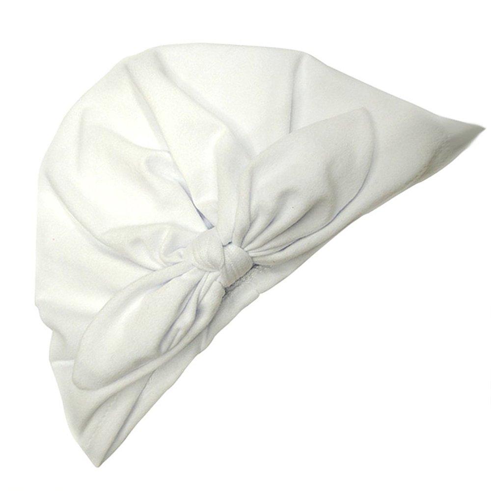 color blanco Little Sporter nette Sombreros de beb/é reci/én nacido Baby Orejas de conejo Chica anudadas algod/ón turbante sombrero Beanie Cap suave beb/é ni/ña 2013 Pa/ñuelo deportivo para la cabeza