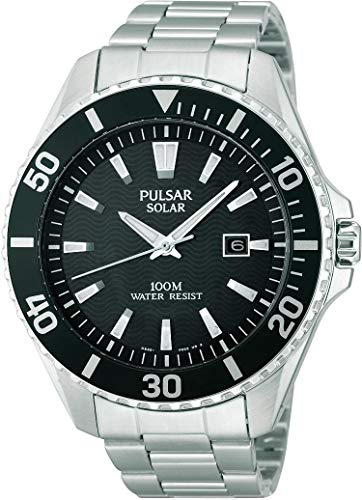 Pulsar Gents Solar Bracelet Watch