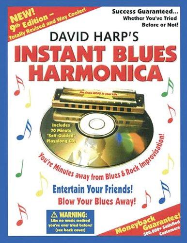 David Harp - Instant Blues Harmonica (Book & CD)