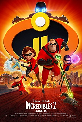 Disney Pixars Incredibles 2 135x20 Original Promo Movie Poster