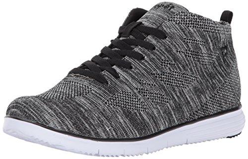 Propet Women's TravelFit Hi Walking Shoe, Silver/Metallic, 6 W US