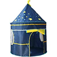 TOYANDONA Rocket Ship Play Tent Playhouse Space Star Castle Pop Up Tent Toy for Kids Children Indoor Outdoor Playground…