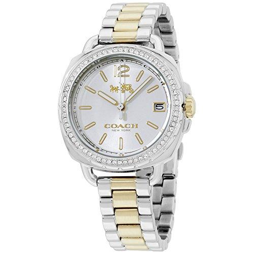 COACH Women's Tatum - 14502591 Silver One Size (Womens Coach Watches Silver)