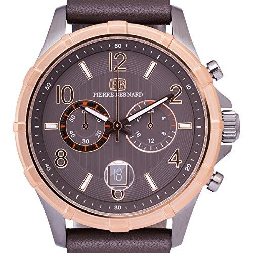 Pierre Bernard Arcturian Mens Chronograph Watch