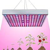 45W LED Grow Light, Venoya Full Spectrum UV IR Red Blue 225 LEDs
