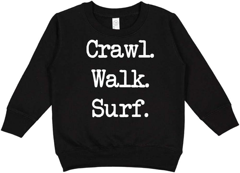 Mashed Clothing Crawl Surf Walk - Toddler//Kids Sweatshirt