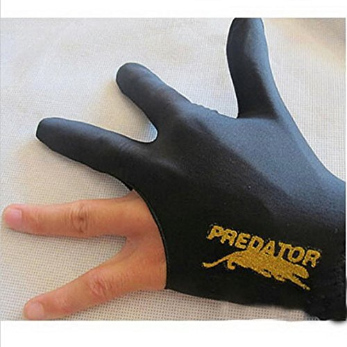 1PCS-Black-Spandex-Snooker-Billiard-Cue-Glove-Pool-Left-Hand-Three-Finger-Access