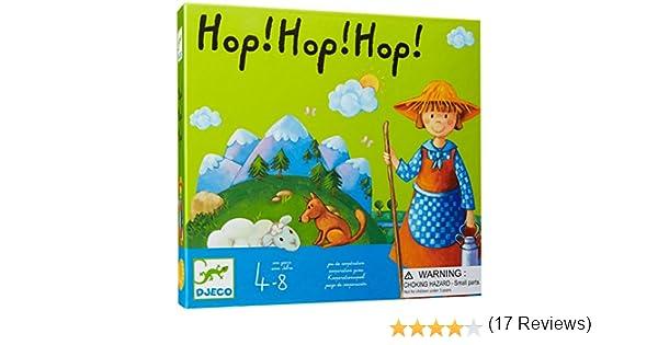 Hop! hop! hop! Juego de cooperación: Amazon.es: Juguetes y juegos