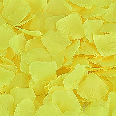 Rose Petals, Cozyswan 7000pcs Silk Artificial Fabric Flower for Valentine Ceremony Wedding or Home Hotel Garden Bouquet Party Decorations - Rose Bouquet Wedding Invitations