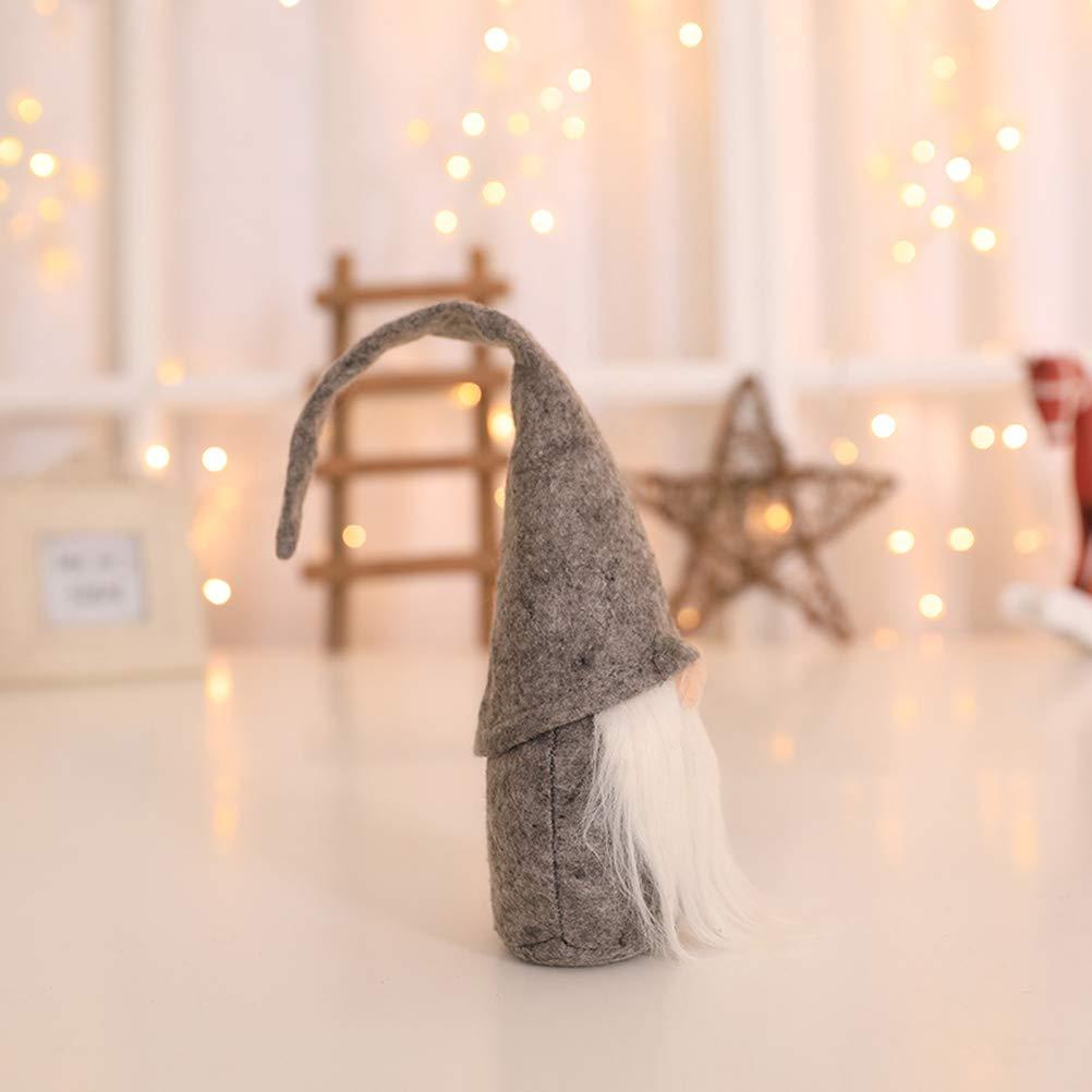 Gris BESTOYARD GNOME De No/ël Santa Scandinave Su/édois Tomte Nisse Maison D/écoration De La Table Peluche Poup/ée Anniversaire Cadeau
