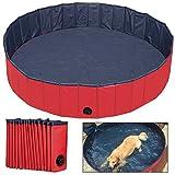 NACOCO Foldable PVC Dog Cat Water Pool Pet