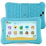 Alldaymall Kids Tablet with 64 bits Quad Core CPU, 7'' HD 1920x1200 IPS Display, Android 5.1 Lollipop, 1GB RAM 16GB Flash, HD Kids Edition w/ iWawa Pre-Installed Bundle - Blue