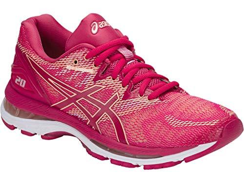 8e8da0809dad6 ASICS Women's Gel-Nimbus 20 Running Shoes, 10.5M, Bright Rose/Bright  Rose/APRICO
