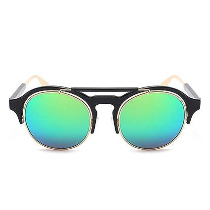 Gafas de moda Gafas de sol de forma redonda sin montura ...