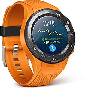 Huawei Watch 2 - Smartwatch Android (Bluetooth, WiFi, 4G) color naranja (dynamic)