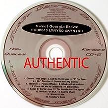 Sweet Georgia Brown Lynyrd Skynyrd (SGB0043 Karaoke CD&G)
