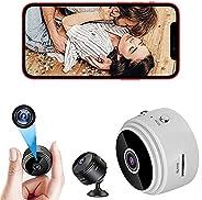 POTIKA 1080P HD IP Mini Spy Camera Wifi Com Base Magnética, Câmera Oculta Com áudio, Câmeras Domésticas Com Ap