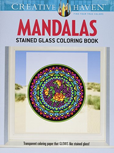 Dover Creative Haven Mandalas Coloring Book Publications
