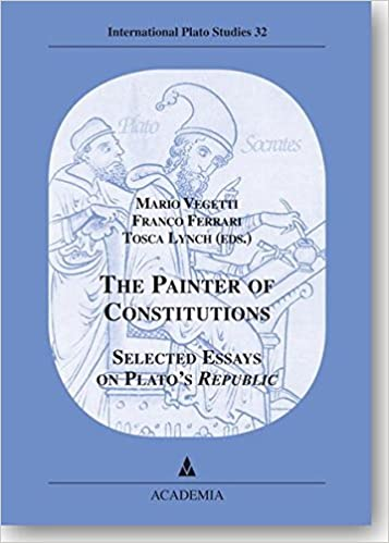 the painter of constitutions selected essays on plato s republic  the painter of constitutions selected essays on plato s republic international plato studies 9783896655110 com books
