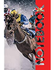 Notebook: Horse Race Betting Professional Composition Book for Online Results and Notes