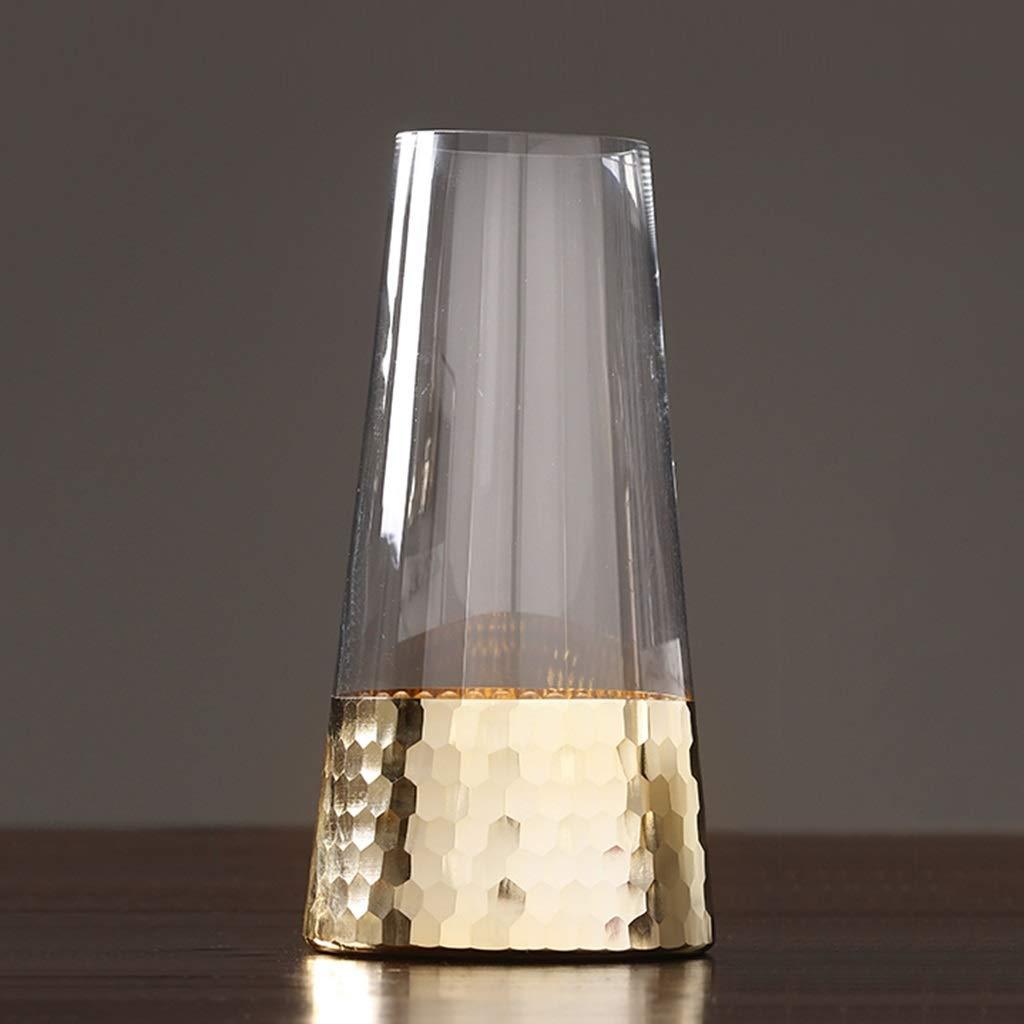 ダイニングテーブルの花瓶、花の装飾ガラスフラワーアレンジメント家庭用透明花瓶用のリビングルーム (サイズ さいず : 7.5*25.5CM) B07RTG94XT  7.5*25.5CM