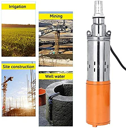 Screw Pump High Lift Stainless Cast Steel Submersible Water Pump Built-in Controller for Ships Fishing Boats Fish Pool Agricultural Irrigation Water Pump