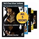 5 Lesbian Books Series: Shondra's Lesbian Love: Books 1-5 Audiobook by Scarlet Butler Narrated by Melissa Sternenberg