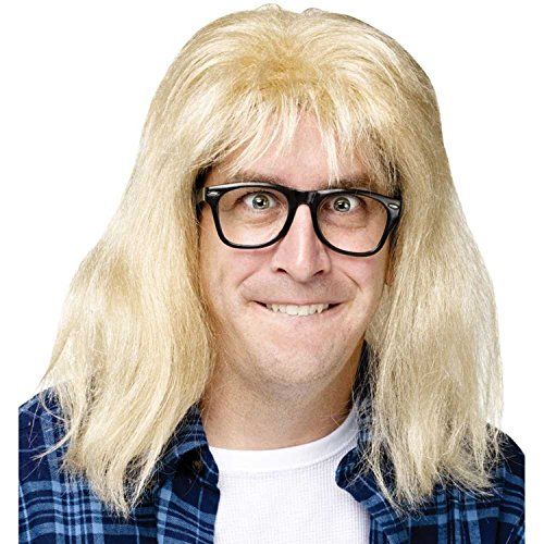 Wayne's World Garth Wig & - Garth World Wig Waynes