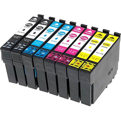 8er Set EasyInk Druckerpatronen zu EPSON T2991XL - 2994XL für Epson Expression Home XP-332, Expression Home XP-335, Expression, Expression Home XP-432, Expression Home XP-435