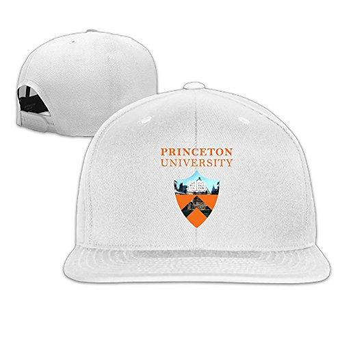 ElishaJ Flat Billed Princeton University Trucker Caps White