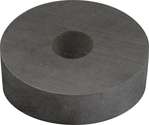 MAG-MATE 455005 Ceramic Ring Shaped Magnet Material, 5.25 x 2.31'' ID x 0.75'' by Industrial Magnetics