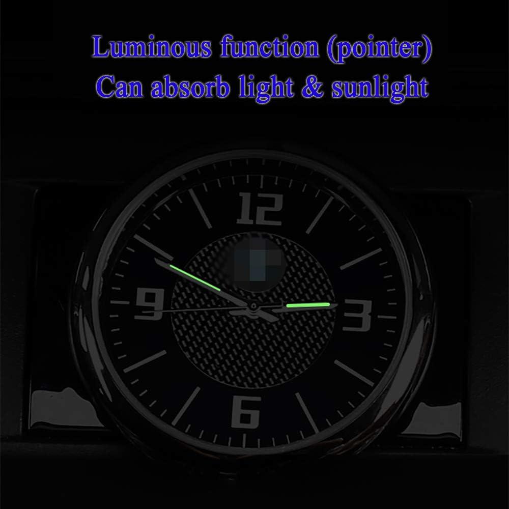LAUTO La decoraci/ón Interior del Coche,Reloj del Coche,Reloj Decorativo para Salida de Aire del Aire Acondicionado del autom/óvil,Adecuado para Mercedes-Benz Audi R Sline Smart Mini X5,etc,Mini