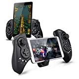 Wireless Android Controller, Megadream Gaming Gamepad Joystick for Samsung Galaxy Note 9 8 S9 S8 S7 S6 S5, HTC One, Sony Xperia, LG, Nokia Lumia Phone - Support Up to 10 inch Smartphone and Tablet PC