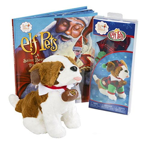 Saint Bernard Costumes (Elf on the Shelf(R) St. Bernard Puppy Playset)