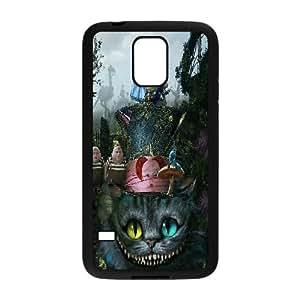 LSQDIY(R) Alice in wonderland SamSung Galaxy S5 I9600 Custom Case, High-quality SamSung Galaxy S5 I9600 Case Alice in wonderland