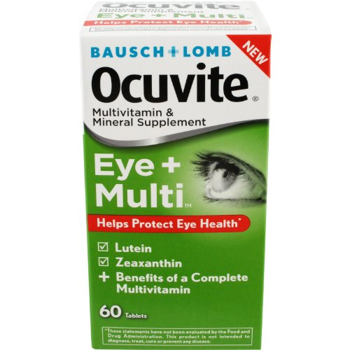 Ocuvite Eye Multivitamins 60 Count