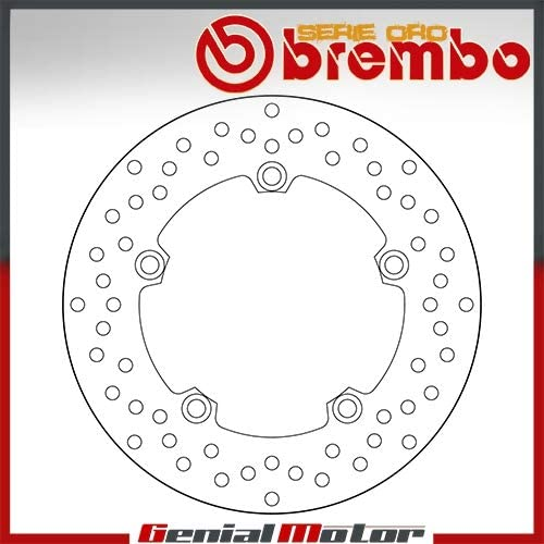 68B407L0 Disque Frein Fixer Brembo Arriere Mt 07 Motocage Abs 700 2014  2016