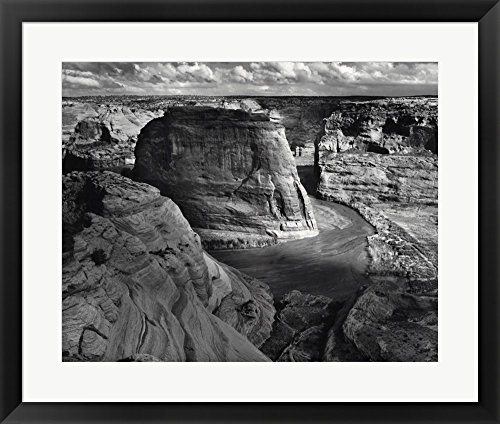 Canyon de Chelly National Monument by Ansel Adams Framed Art Print Wall Picture, Black Frame, 29 x 24 inches Canyon De Chelly National Monument