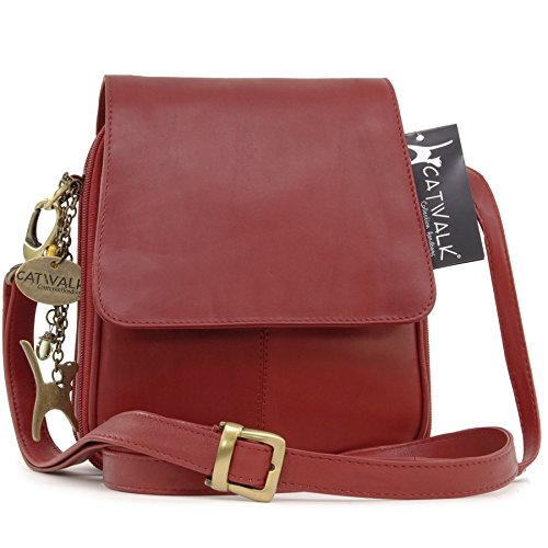 Collection de sacs à main Catwalk, Sac musette pour femme Rosso (Rot)