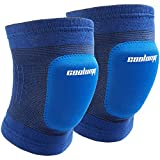 COOLOMG NEW Como Skating Cycling Protective Brace Elbow Knee Support Pad For Child Kids Blue