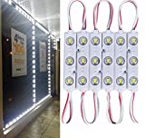 5730 led module - 9.8 FT 5730 3 Led Module Light White Waterproof with Self-Adhesive Tape for Sign Lettering Storefront Window Exterior Light,Only LED Lights,12V Power Supply Not Included