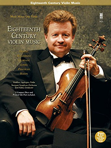 Eighteenth Century Violin Music: Music Minus One Violin Deluxe 2-CD Set (Music Minus One (2 Cd Set Music Book)