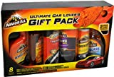 Armor All Ultimate Car Lover's Gift Pack with Extreme Wheel & Tire Cleaner (1.5 pt), Ultra Shine Tire Foam Protectant (1 lb 2 oz.), Ultra Shine Wash and Wax (1 pt), Cleaning Wipes (25 ct), Original Protectant (10 fl. oz) and Auto Glass Cleaner (1.38 pt) Plus Bonus Microfiber Towel and Wash Mitt