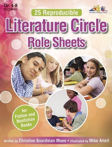 25 Reproducible Literature: Circle Role Sheets for Fiction and Nonfiction Books by Christine Boardman Moen - Boardman Mall