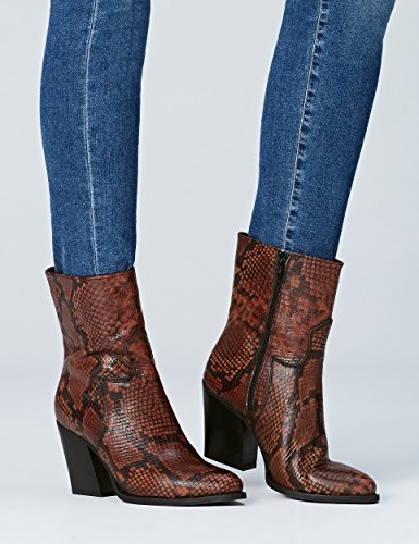 Mujer Brown Marrón Find 02 Buck Botines qnEwwST